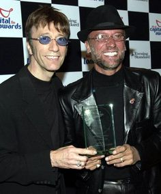 Robin and Maurice Gibb