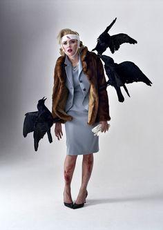 Scarlett Johansson as Tippi Hedren by Tim Walker.