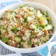 Lemon Herb Couscous Salad Recipe