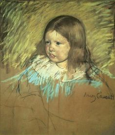 Margaret Milligan Sloan by Mary Cassatt #art