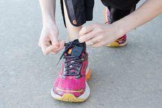 Attachez votre clé de voiture ou de maison à vos chaussures lorsque vous allez courir.