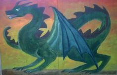 san michele e il drago steiner Chalkboard Drawings, Chalk Drawings, Chalkboard Art, Sun Drawing, Painting & Drawing, Fall Nail Polish, Fall Nails, Chalk Wall, Hopscotch