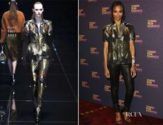 Zoe Saldana In Gucci – 'Chime For Change: The Sound Of Change Live' Concert