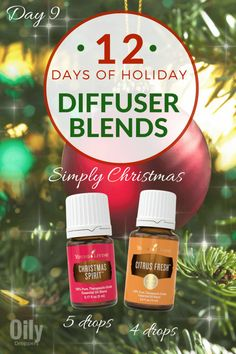 One of the BEST ways to enjoy the holiday season is by diffusing – not only can diffusing help you support your immune system, it can freshen the air, support your emotional health and benefit many people at once.