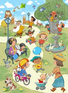 John Nez Illustration - Peter Panda { a child's world; English Activities, Speech Therapy Activities, Language Activities, Speech Language Therapy, Speech And Language, Picture Comprehension, Sequencing Pictures, Picture Composition, Picture Writing Prompts
