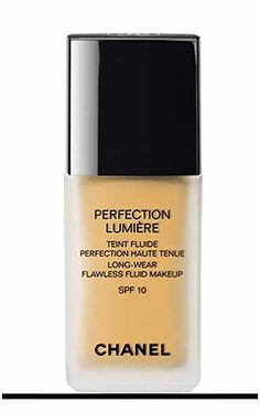 PERFECTION LUMIÈRE controls every detail of a perfect complexion to offer a tailor-made result, a model of perfection by CHANEL @ $55., $58. However, the  silicon ingredient CYCLOPENTASILOXANE is a cancer tumor formation.