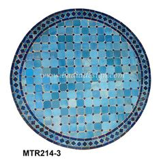 60 Inch Moroccan Mosaic Tile Table Top MTR621 Mosaic tile