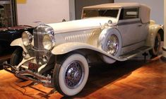 1931 Duesenberg Model J Rollston Convertible Victoria - Henry Ford Museum