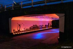 under bridge lighting - Google Search