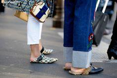 Paris – Place de l'Opéra. #Details #Fashion, #FW16, #Moda, #Mode, #Paris, #PFW, #Shoess, #SS17, #Street, #StreetStyle, #Style, #Woman, #Women Photo © Wayne Tippetts