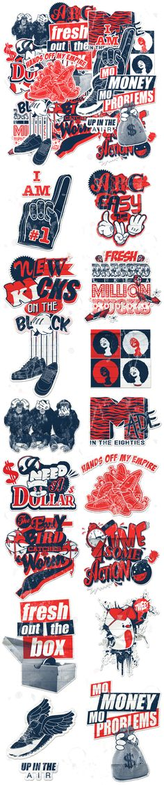 sticker design 171 Awesome Sticker Design Inspiration