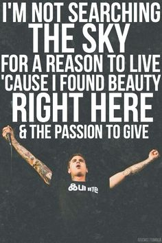 Open Letter | The Amity Affliction // Chasing Ghosts