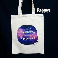I'm possible Totebag