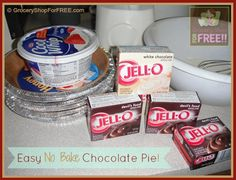 My older boys love this Chocolate Pie recipe – their friends do, too! So, I make it 2 times a year – Thanksgiving and Christmas!  That's it!  That's probably why they like it so much – they can only get it 2 times a year. This is another recipe handed down to me from my Mom!  It's so easy and quick – no baking!