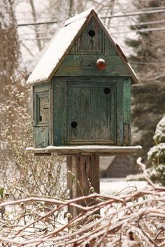 GREAT BIRDHOUSE.