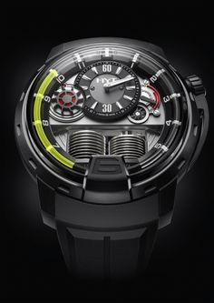 Die Uhren des Bieler Unternehmens HYT zeigen die Zeit mit Flüssigkeit an.  Die Erfinderalchimisten bzw. Hydro Mechanical Horologists von HYT setzen die Utopie in Realität um, indem sie Mechanik und Fluidtechnik in einer Armbanduhr vereinen. Sie sind ebenso leidenschaftlich unkonventionell wie den strengen Regeln der hohen Uhrmacherkunst treu – und scheuen sich auch nicht, diese über den Haufen zu werfen.