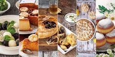 Un perfecto menú para el fin de semana. Camembert Cheese, Dairy, Menu, Dinner, Food, Gastronomia, Beef Cheeks, Pumpkin Crunch, Gram Flour
