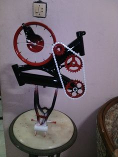 Hi there.. this clock has design by me