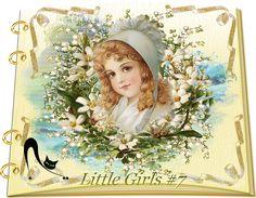 Design Wilds Cat: Vector Little Girls Collection #7 - 50 Ai Девочки