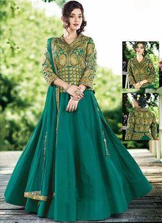 Buy lehenga choli online. Customization and free shipping worldwide. Enticing raw silk lehenga choli for bridal and wedding.