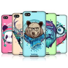 HEAD CASE DESIGNS FAUNA HIPSTERS HARD BACK CASE COVER FOR BLACKBERRY Z30 in Cell Phones & Accessories | eBay