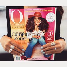 Check out Pandora's Majestic feathers ring  featured on the October cover of O the Oprah magazine !!!  A great time to pick up this beautiful statement ring is during our current ring promotion going on until October 25th. Buy 2 rings receive the 3rd one free of equal value or less !! #oprah #loves #pandora #pandorarings #pandorapolopark #oprahsfavoritethings #ywg #ringpromo #theartofyou #pandorastyle #trends #fall