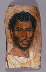 Mummy Portrait of a Bearded Man, Romano-Egyptian, about A.D. 150-170