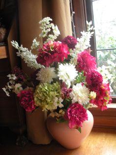 Silk arrangement.