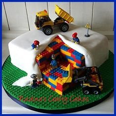 Image result for lego party cakes