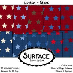 Surface - Cotton Stars Contact | Flickr - Photo Sharing!
