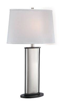 Special Offers - Lite Source LS-21822 Colton Table Lamp Polished Steel Black/White Fabric Shade - In stock & Free Shipping. You can save more money! Check It (July 23 2016 at 04:22PM) >> http://tablelampusa.net/lite-source-ls-21822-colton-table-lamp-polished-steel-blackwhite-fabric-shade/
