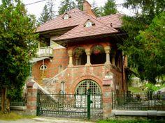 Villa Florica Socolescu, Sinaia, Romania built in 1925 by Toma Socolescu(1883-1960), Romanian architect