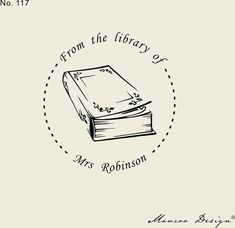 Items similar to From the library of-Custom Stamp ( ) -This Book Belongs to - Bookplate Stamp- teacher gift - custom stamp - classroom stamp on Etsy Ex Libris, Pub Logo, Education Logo, Address Stamp, Personalized Books, Black N White Images, Custom Stamps, Custom Packaging, Text You