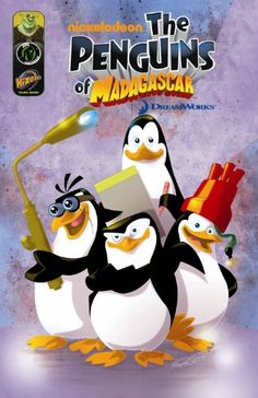 Penguins of Madagascar Digest Volume 1 GN by David Server http://www.amazon.ca/dp/1934944963/ref=cm_sw_r_pi_dp_3ACQub0R845ED