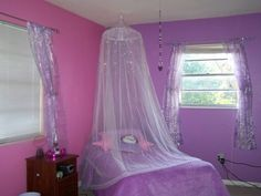 Purple And Pink Room