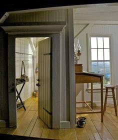 Fish Hall best Miniature Rooms by Robert Off. Source: artisaway.com/blog/miniature-mood-rooms-by-robert-off/
