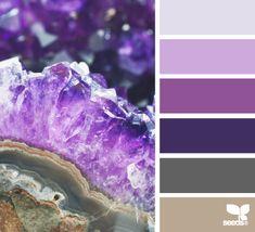 amethyst hues