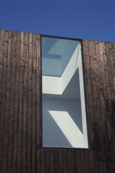Sunken House, London, UK by David Adjaye Architect Architecture Design, Residential Architecture, Contemporary Architecture, Building Architecture, Interior And Exterior, Exterior Design, Roof Light, House Design, Skylights