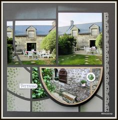 Bretagne 2014 - Elven, notre gîte et son jardin