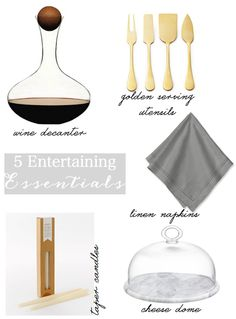 5 entertaining essentials for the holiday season