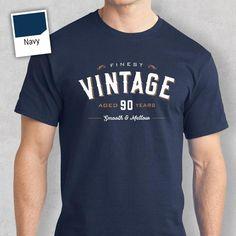 90th Birthday T Shirt Gift