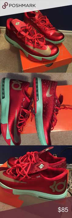 KD VI Shoes In brand new condition. Only been worn once. Comes in the box. Very nice. Nike Shoes Athletic Shoes