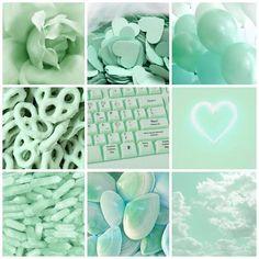 Green Aesthetic Tumblr, Mint Green Aesthetic, Aesthetic Colors, Aesthetic Collage, Aesthetic Images, Mint Wallpaper, Cute Wallpaper Backgrounds, Pretty Wallpapers, Iphone Wallpaper Tumblr Aesthetic
