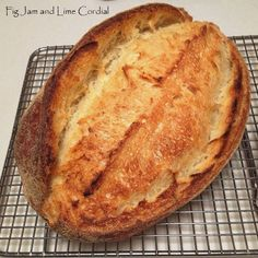 Priscilla Sourdough Tips and Suggestions | Fig Jam and Lime Cordial