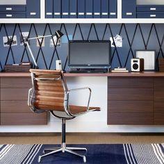 wohnideen arbeitszimmer home office büro - retro büro zu hause ... - Wohnideen Small Arbeitszimmer