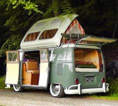 I'd love to drive round the British coastline in a camper van, and find the best sea views in the country's! || Tin top roof conversion idea. #Roofing #Coatings http://www.epdmcoatings.com/