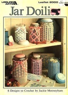jar covers crochet - Cerca con Google