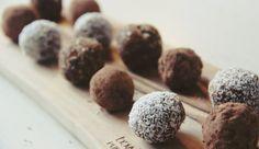 Gezonde Snacks #6 // Dadel-Noten-Kokos-Chocolade-Ballen
