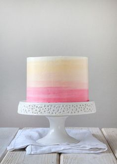 After receiving such much awesome feedback from my Watermelon Cake, I was s0 jazzed to come up with another tutorial post for you all, specifically: How to Ice a Cake: Version 2.0 (The Perfect Ombre). Let's be honest, I am not totally up on my party trends these days. I no longer [...]
