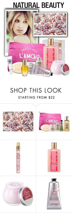 """""""L'OCCITANE natural beauty"""" by natcatt ❤ liked on Polyvore featuring beauty, Kess InHouse, L'Occitane, Beauty, naturalbeauty, loccitane and polyvorecontest"""